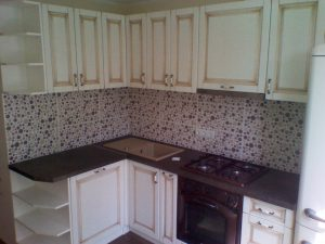 Retro virtuvės baldai