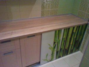 Dekoratyviniai stiklai vonios kambarys