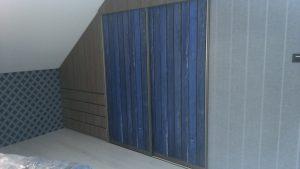 Mėlynos spintos