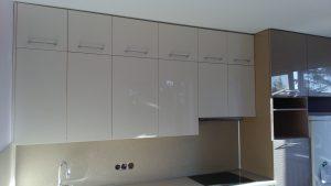 Modernios virtuvės spintelės